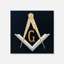 Masonic Symbol Sticker