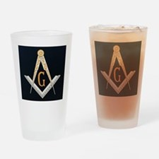 Masonic symbol Drinking Glass