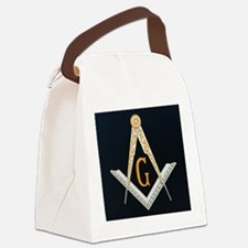 Masonic symbol Canvas Lunch Bag