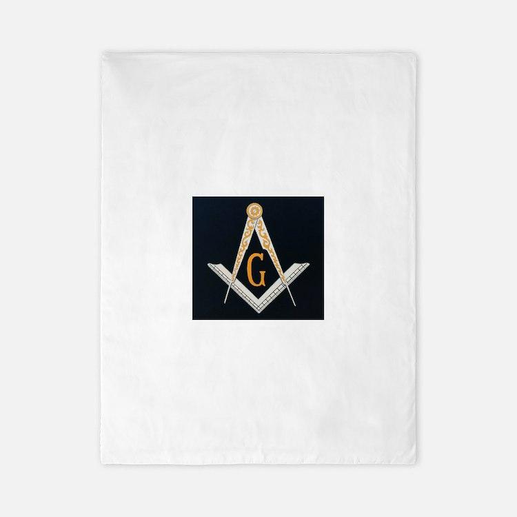 Masonic symbol Twin Duvet