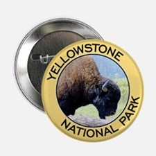 Yellowstone NP (Bison) Button