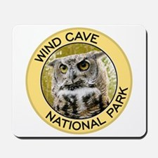 Wind Cave NP (Great Horned Owl) Mousepad