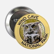 Wind Cave NP (Great Horned Owl) Button