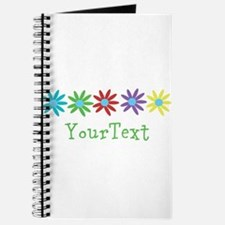 Personalize Flowers Journal