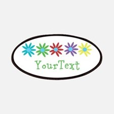 Personalize Flowers Patch