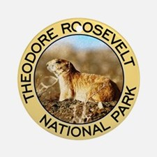 Theodore Roosevelt NP (Prairie Dog) Ornament (Roun