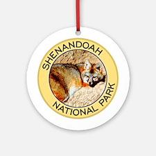 Shenandoah NP (Gray Fox) Ornament (Round)