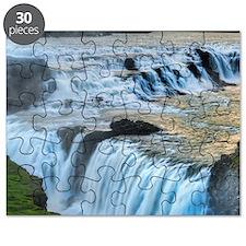 GULLFOSS WATERFALLS 2 Puzzle