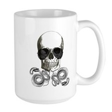 rock n roll skeleton skull Mugs