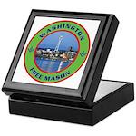 State of Washington Free Mason Keepsake Box