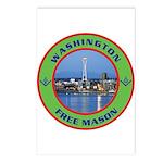 State of Washington Free Mason Postcards (Package