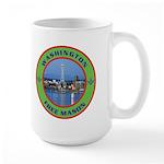 State of Washington Free Mason Large Mug