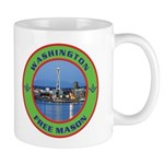 State of Washington Free Mason Mug