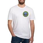 State of Washington Free Mason Fitted T-Shirt
