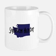 Washington Squatch Hunter Mugs