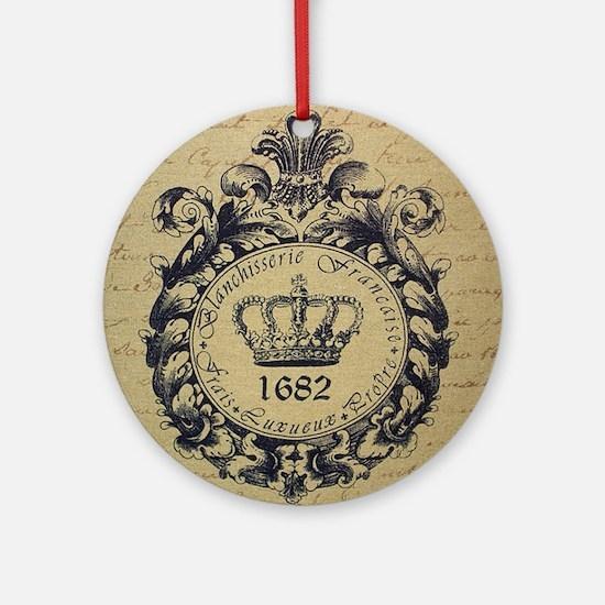 Paris 1862 Round Ornament