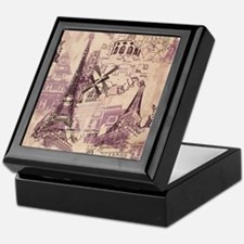 Paris XI Keepsake Box