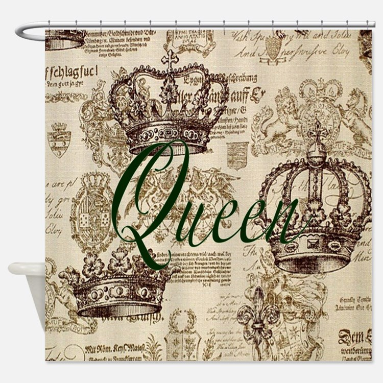 Queen bathroom accessories decor cafepress for Queen bathroom decor