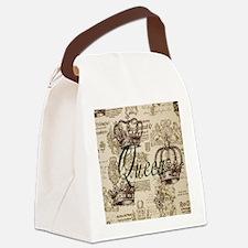 Queen Canvas Lunch Bag
