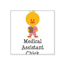 "Cute Careers, nurse Square Sticker 3"" x 3"""