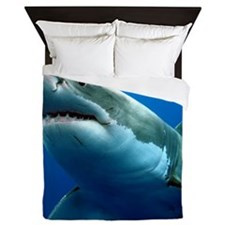 GREAT WHITE SHARK 3 Queen Duvet