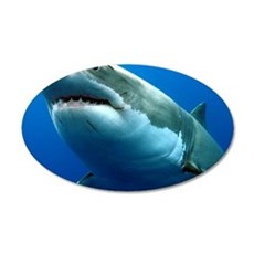 GREAT WHITE SHARK 3 Wall Decal