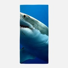 GREAT WHITE SHARK 3 Beach Towel