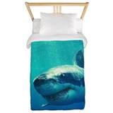 Shark Luxe Twin Duvet Cover