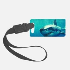 GREAT WHITE SHARK 1 Luggage Tag