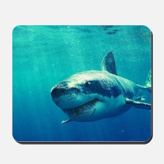 GREAT WHITE SHARK 1 Mousepad