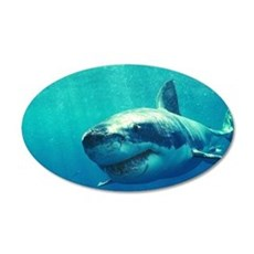 GREAT WHITE SHARK 1 Wall Decal