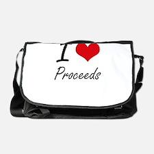 I Love Proceeds Messenger Bag