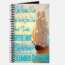 Columbus Day Sale Journal