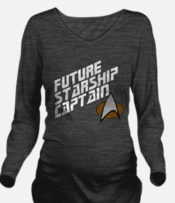 Cool Star trek the next generation Long Sleeve Maternity T-Shirt