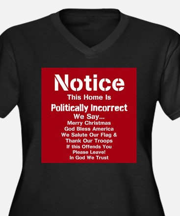 Politically Incorrect Plus Size T-Shirt