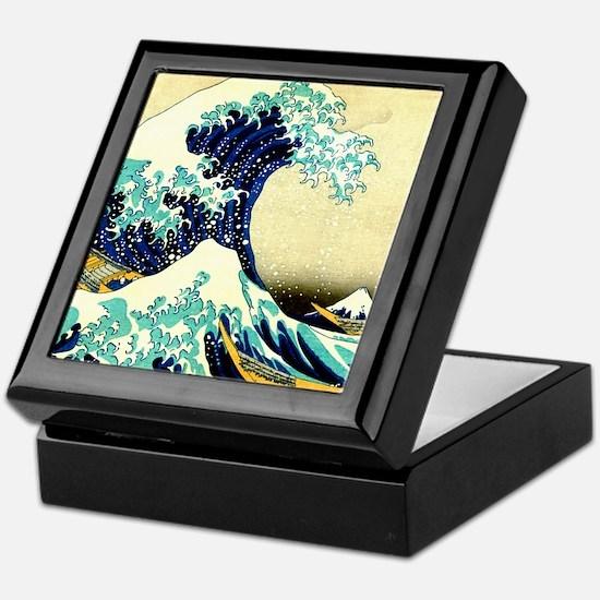 The Great Wave off Kanagawa Keepsake Box