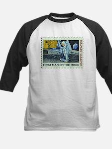 US First Man on Moon 10Cent Greet Baseball Jersey