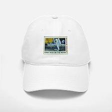 US First Man on Moon 10Cent Greeting Card.png Baseball Baseball Cap