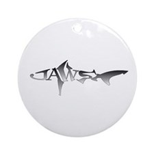 JAWS Round Ornament