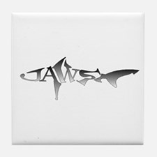 JAWS Tile Coaster