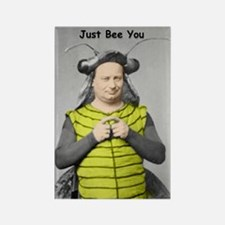 Just Bee You Rectangle Magnet (10 pack)