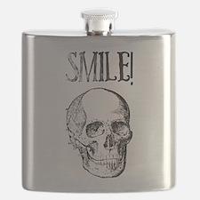 Smile! Skull smiling Flask