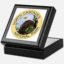 North Cascades NP (Bald Eagle) Keepsake Box