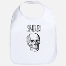 Smile! Skull smiling Bib
