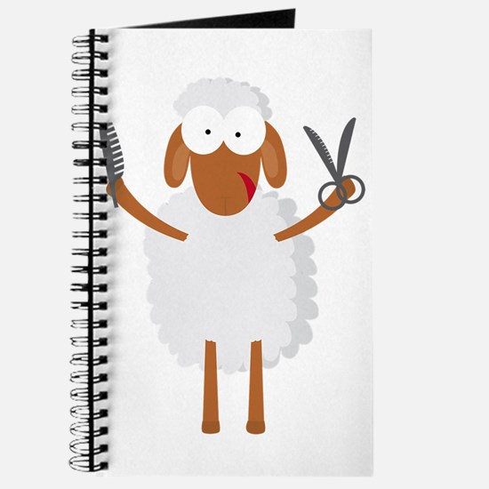 happy sheep hairdresser coiffeur barber Journal