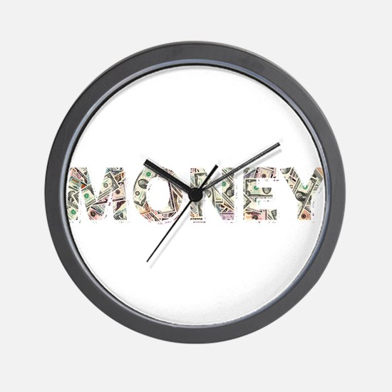 Money: Dollars Wall Clock