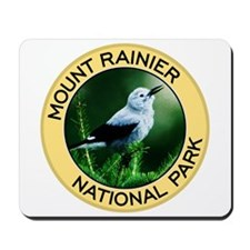 Mount Rainier NP (Clark's Nutcracker) Mousepad