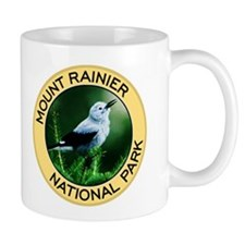 Mount Rainier NP (Clark's Nutcracker) Mug