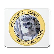 Mammoth Cave NP (Raccoon) Mousepad