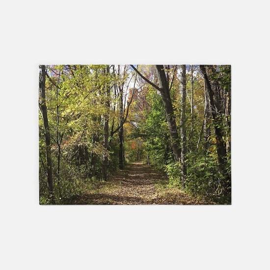 Autumn Trail 5'x7'Area Rug